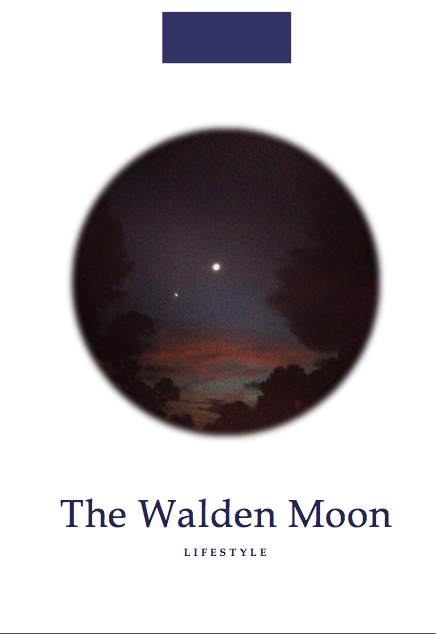 Moon Pamphlet | The Walden Moon Lifestyle by Kelly Walden